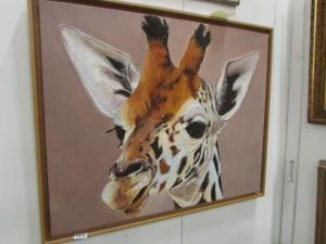 Gertie the Giraffe sold for £45